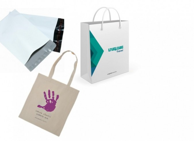 From plastic to paper packaging, from shipping bags to luxury carrier bags